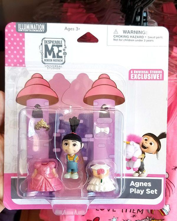 Despicable ME Universal Studios Parks Toy Figurine Set Agnes Princess