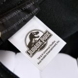 Jurassic Park Universal Studios Baseball Hat - Black Retro Logo