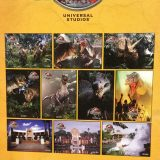 Jurassic Park (10 Postcards) Pack Universal Studios JP TRex Spinosaurus
