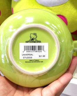 Hello Kitty Friends Universal Studios Coffee Mug Keroppi Green Frog