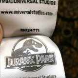Jurassic Park JP Logo Universal Studios Soft Throw Blanket