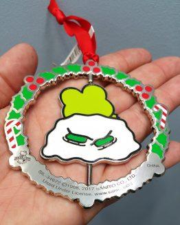 Hello Kitty Universal Studios Ornament Keroppi Frog