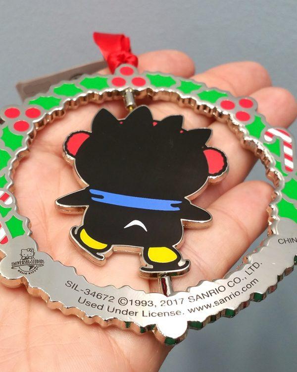 Hello Kitty Universal Studios Ornament Badtz Maru Penguin