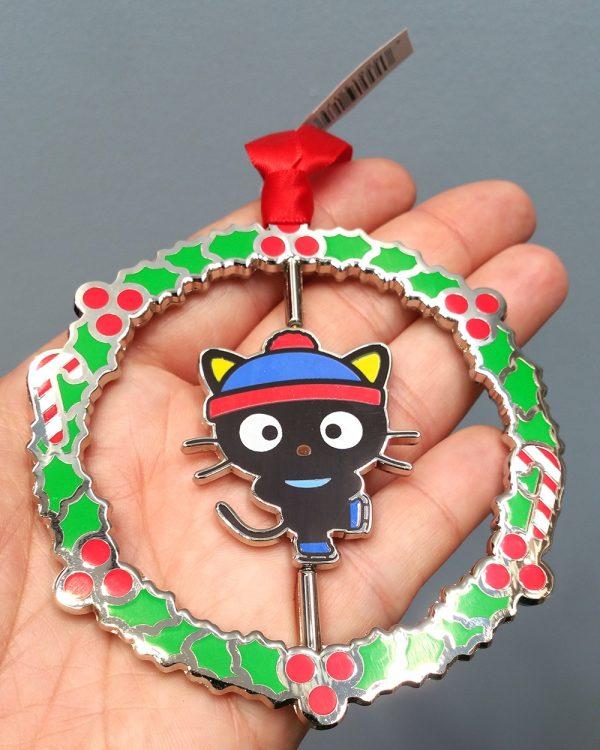 Hello Kitty Universal Studios Ornament Ice Skating Chococat