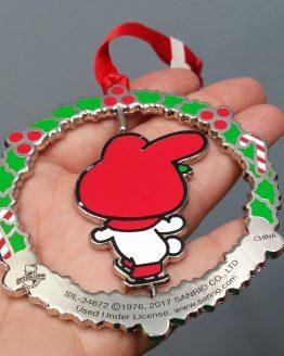 Hello Kitty Universal Studios Ornament Ice Skating My Melody