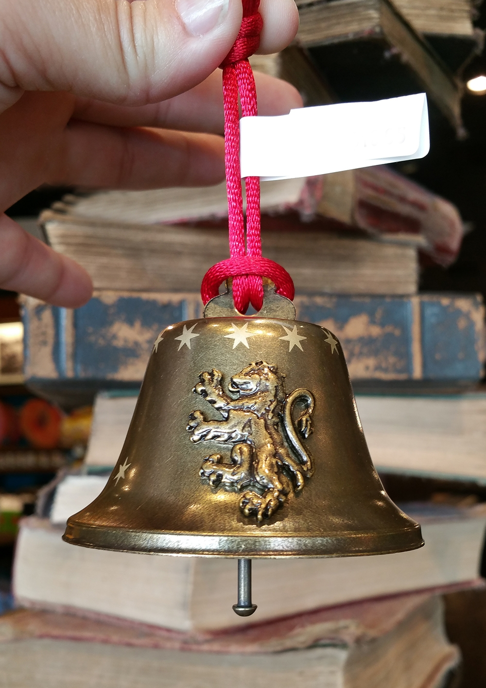 Wizarding World of Harry Potter Ornament Metal Bell Gryffindor