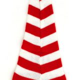 Dr Seuss The Grinch Universal Studios Striped Night Cap Christmas Red Santa Hat