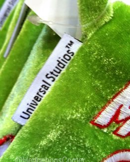Dr Seuss The Grinch Universal Studios Striped Stocking Merry Grinchmas