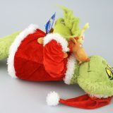 "Dr Seuss The Grinch Universal Studios 22"" Plush Hugging Max the Dog"
