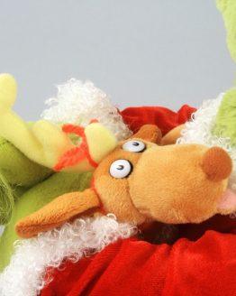 "Dr Seuss The Grinch Universal Studios 22"" Plush Hugging Max the Dog"