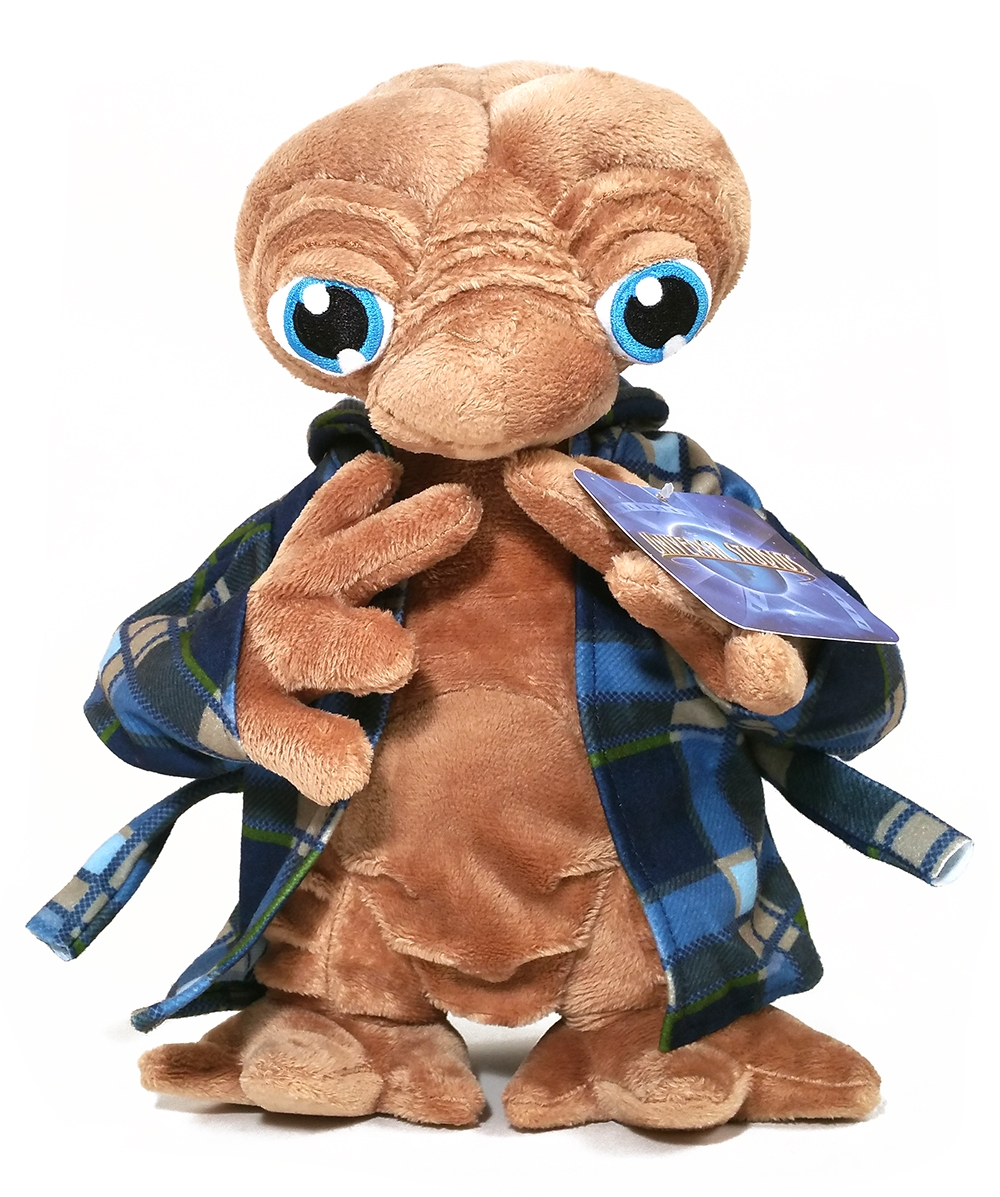 E.T. the Extra Terrestrial Universal Studios Plush Telepathic w/ Bathrobe