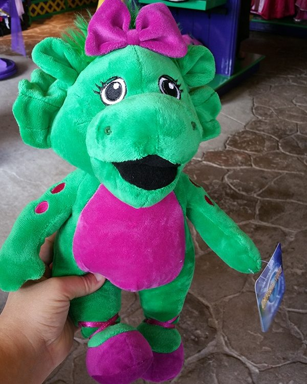 Barney and Friends Universal Studios - Baby Bop Green Dinosaur Large Plush
