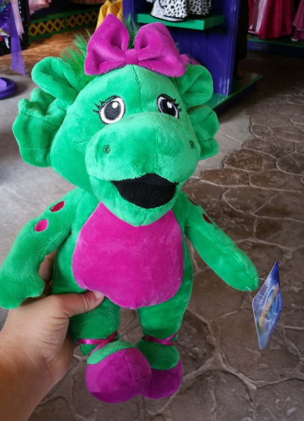 Barney and Friends Universal Studios – Baby Bop Green Dinosaur Large Plush