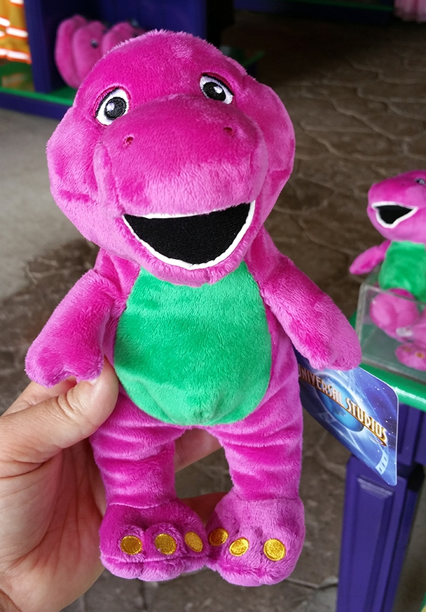 Barney and Friends Universal Studios – Barney the Purple Dinosaur Small Plush