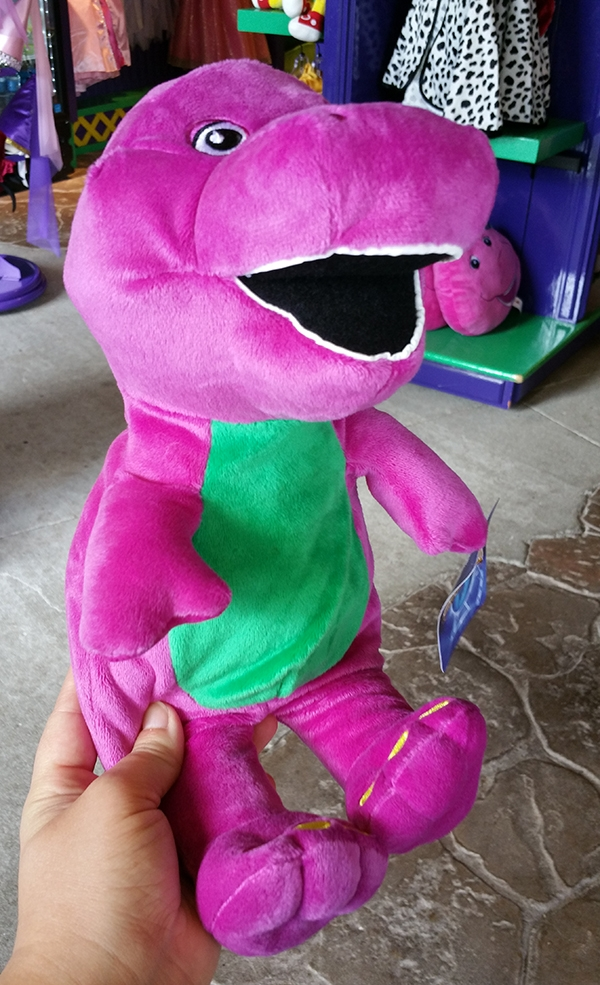 Barney the Purple Dinosaur Universal Studios – Large Plush