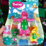 Barney and Friends Universal Studios - Bendable Characters Figures