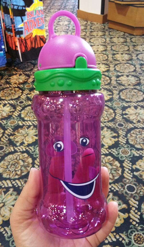 Barney Universal Studios – Kids/Toddler Sippy Cup with Retractable Straw