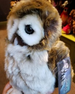 Wizarding World of Harry Potter Universal Studios Plush Brown and White Owl