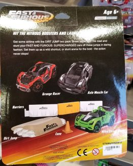 Fast and Furious Supercharged Universal Studios Modarri Toy Car - Dirt Jump Two Pack