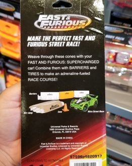 Fast and Furious Supercharged Universal Studios Modarri Toy Car – Cone Pack