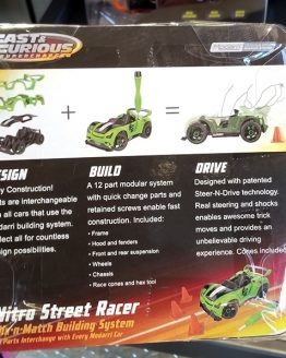 Fast and Furious Supercharged Universal Studios Modarri Toy Car – Nitro Street Racer Building System