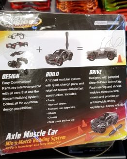 Fast and Furious Supercharged Universal Studios Modarri Toy Car – Axle Muscle Car Building System