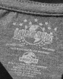 Jurassic Park JP 25th Anniversary Logo Universal Studios - Men's Raglan Shirt