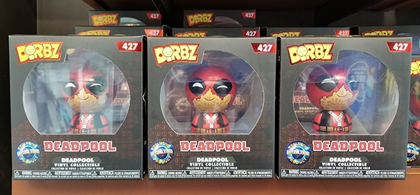 Funko Dorbz Universal Studios Exclusive Product - Marvel Deadpool Figure