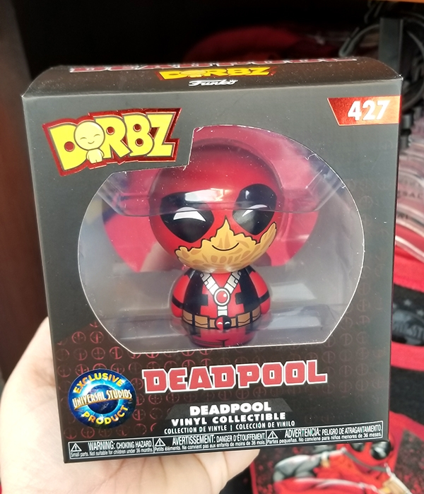 Funko Dorbz Universal Studios Exclusive Product – Marvel Deadpool Figure