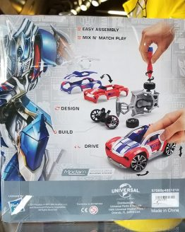 Transformers Universal Studios Modarri Toy Car – Optimus Prime Muscle Car Deluxe
