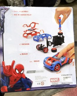 Marvel Ultimate Spiderman Universal Studios Modarri Toy Car – Street Car Deluxe