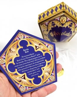 A Celebration of Harry Potter 2018 Universal Studios - Chocolate Frog Card Bertie Botts w/Box