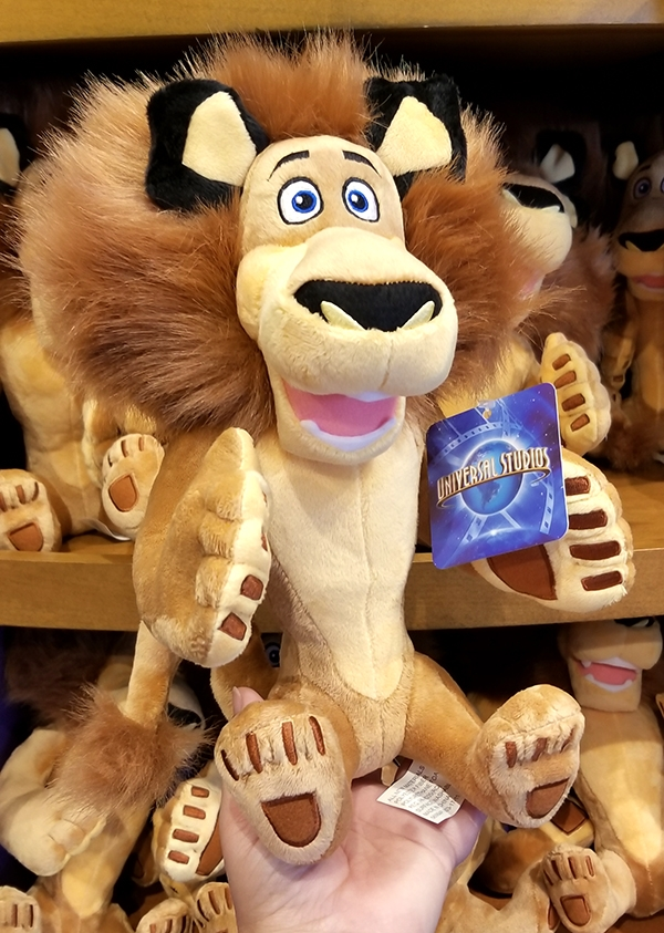 Dreamworks Madagascar Universal Studios Plush – Alex the Lion