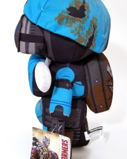 Transformers the Last Knight Universal Studios Plush Blue Robot Sqweeks