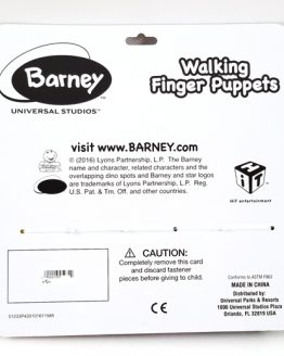 Barney and Friends Universal Studios Parks - Walking Finger Puppets Toys