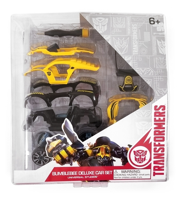 Transformers Universal Studios Modarri Toy Car – Bumblebee Deluxe Car Set