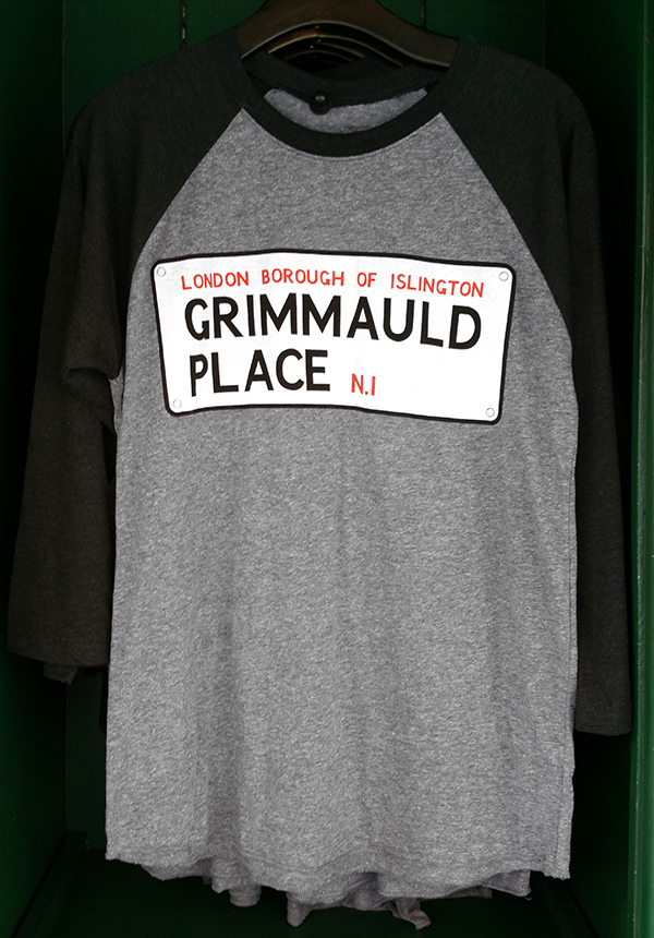 Wizarding World of Harry Potter Universal Studios Raglan Shirt Grimmauld Place