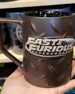 Fast and Furious Supercharged Universal Studios Mug - Diamond Tread