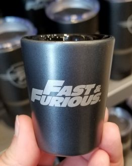 Fast and Furious Supercharged Universal Studios Shot Glass - Family Forever