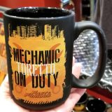 Fast and Furious Supercharged Universal Studios Coffee Mug - Toretto Mechanic on Duty