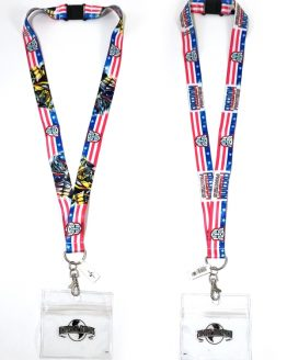 Transformers the Ride 3D Universal Studios - Freedom Fighters Optimus Bumblebee Lanyard
