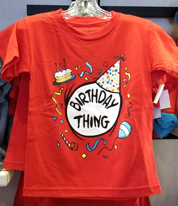 Dr Seuss Cat in the Hat Universal Studios Youth Shirt - Birthday Thing