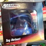 Fast and Furious Supercharged Universal Studios Toy - Blue Helmet with Light & Sound Effects