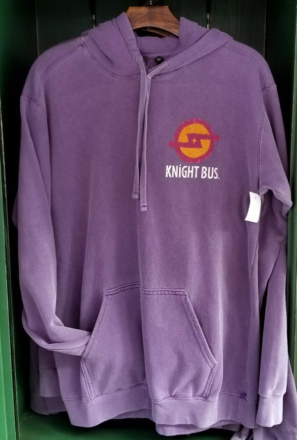 Wizarding World of Harry Potter Universal Studios Men's Hoodie – Purple Knight Bus
