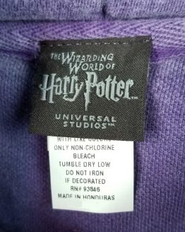 Wizarding World of Harry Potter Universal Studios Men's Hoodie - Purple Knight Bus