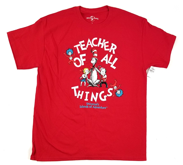 Dr Seuss Cat in the Hat Universal Studios Shirt – Teacher of All Things Red
