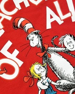 Dr Seuss Cat in the Hat Universal Studios Shirt - Teacher of All Things Red