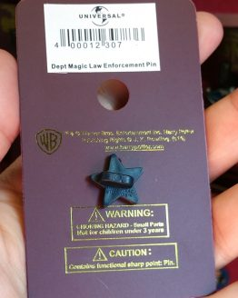 Wizarding World of Harry Potter Trading Pin DMLE Magical Law Enforcement