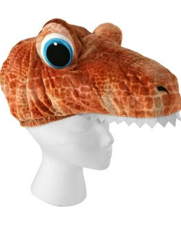 Jurassic Park Universal Studios Games Cart Prize - Dinosaur Soft Costume Hat Brown