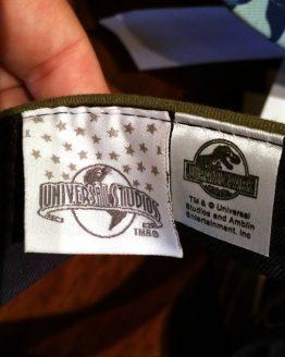 Jurassic Park Universal Studios Visor Hat Cap - Green Blue Logo
